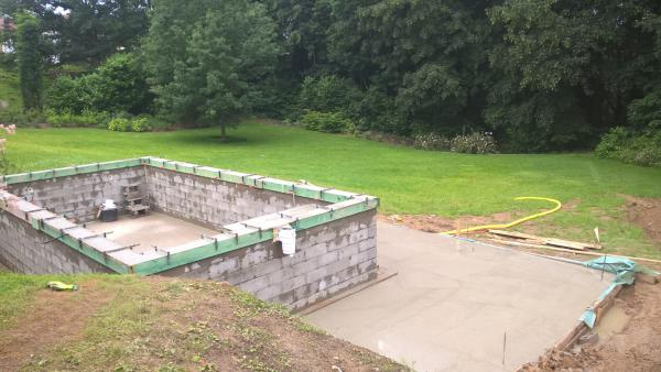 Construction construction de construction entretien de for Construction piscine 09